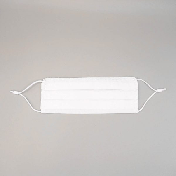 mascarilla algodon organico blanca adulto