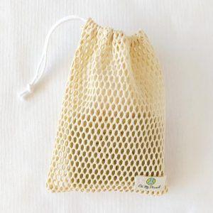 Bolsa jabón solido algodón orgánico