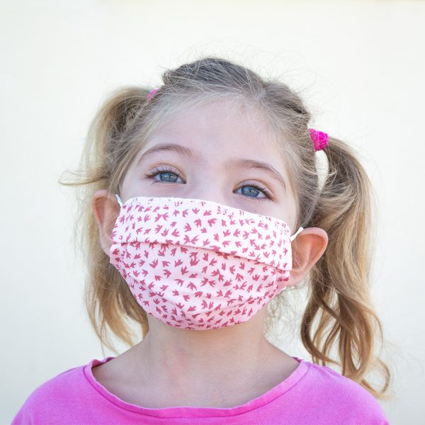 mascarilla algodon organico verano infantil