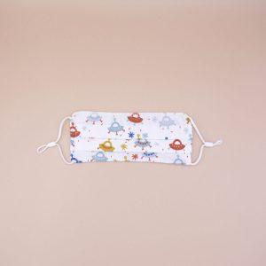 mascarilla infantil algodón orgánico